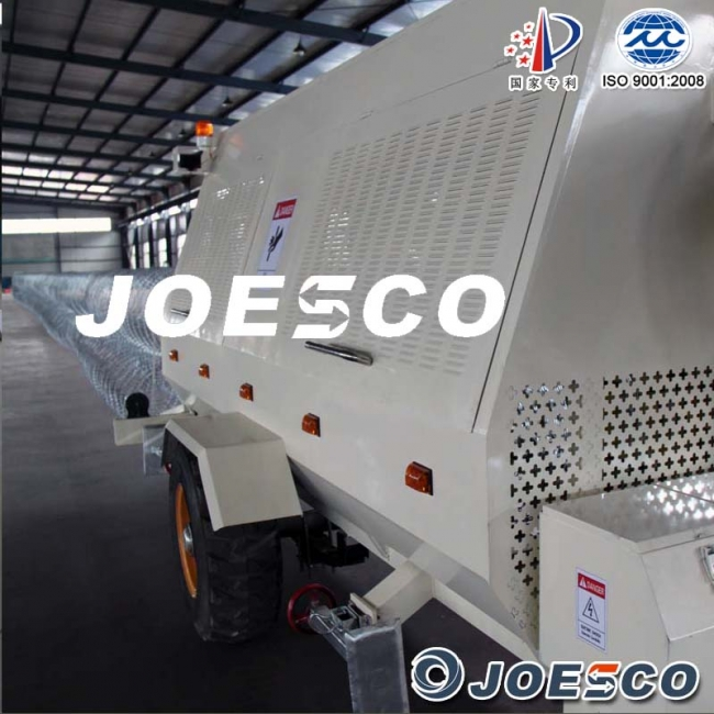 JOESCO barbed tape concertina mobile barrier
